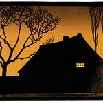 Winter evening (1919) by Julie de Graag (1877-1924). Original from the Rijks Museum. Digitally enhanced by rawpixel. thumbnail