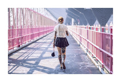 tattoo girl (Nico Geerlings) Tags: ngimages nicogeerlings nicogeerlingsphotography williamsburg williamsburgbridge brooklyn manhattan nyc ny usa newyorkcity tattoo tattoos fashion streetphotography urban architecture fujifilmxt2 xf56mm