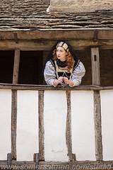 Somersetman5298-G10H (somersetman) Tags: elizabethan costume modelrin pearls crucifix balcony shakesperean
