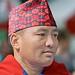 Nepalees met Dhakatopi