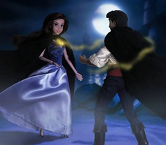 Eric and Vanessa's first meeting (They Call Me Obsessed) Tags: little mermaid ariel doll dolls vanessa ursula disney villain eric prince princess