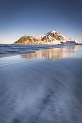 Textures in sand (Lukasz Lukomski) Tags: lofoten landscape norway nikond7200 sigma1020 lukaszlukomski sunrise beach skagsanden scandinavia archipelago island arctic north