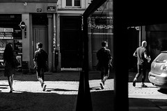 Paris (tomabenz) Tags: france noiretblanc reflection streetshot bw light people urban paris monochrome noir et blanc bnw sony a7rm2 urbanexplorer zeiss streetview black white europe street photography human geometry blackandwhite humaningeometry sonya7rm2 streetphotography
