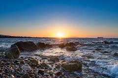 Greece (norbert.husbauer) Tags: greece griechenland kos sea water waves stones sunset nature landscape travel holiday photography sun
