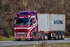 AY18845 (18.04.06, Motorvej 501, Viby J)DSC_4873_Balancer (Lav Ulv) Tags: 245191 agrospedition volvo volvofh fh4 fh460 e6 euro6 6x2 2016 red container maersk truck truckphoto truckspotter traffic trafik verkehr cabover street road strasse vej commercialvehicles erhvervskøretøjer danmark denmark dänemark danishhauliers danskefirmaer danskevognmænd vehicle køretøj aarhus lkw lastbil lastvogn camion vehicule coe danemark danimarca lorry autocarra danoise trækker hauler zugmaschine tractorunit tractor artic articulated semi sattelzug auflieger trailer sattelschlepper vogntog motorway autobahn motorvej vibyj highway hiway autostrada 3axletrailer