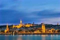 Buda Castle in the blue hour (tamasdragon) Tags: city cityscape longexpo sony