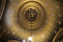 Palais Garnier, Paris : plafond du salon du Soleil (philippeguillot21) Tags: palais opéra garnier salon soleil lustre dorure paris capitale france europe pixelistes canon chaperon rubé