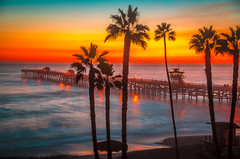 San Clemente Pier Palm Trees California Landscape Seascape Sunset Colorful Clouds! Elliot McGucken HDR San  Clemente Fine Art Landscape & Nature Photography! Epic Pacific Ocean Seascapes!  Enlarged to Nikon D850 resolutions: 8256 x 5504 pixels Socal Art! (45SURF Hero's Odyssey Mythology Landscapes & Godde) Tags: san clemente pier palm trees california landscape seascape sunset colorful clouds elliot mcgucken hdr fine art nature photography epic pacific ocean seascapes enlarged nikon d850 resolutions 8256 x 5504 pixels socal