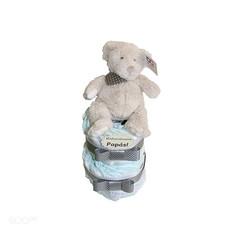 tarta teddy (ABulimia159) Tags: snowflake polka dot simplicity teddy bear ice crystal purity hair bow frozen pacifier fake snow bubble clear cesta bebe cestas de para bebes canastilla regalos regalo tarta pañales tartas
