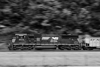 Westbound Empty Hopper Train