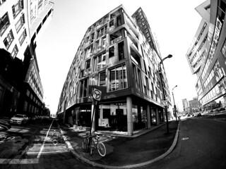Corner of Wellington and Rue Prince