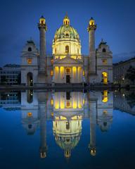 Kariskirche, Vienna. (iancook95) Tags: