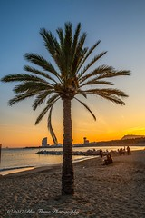 Puerto Olímpico al Atardecer © (Rodolfo Quinio) Tags: puertoolímpicoalatardecer nikond800 nikonafs2470mmf28ged puertoolimpico barcelona catalonia españa sunset sea water 127 hotelw 93
