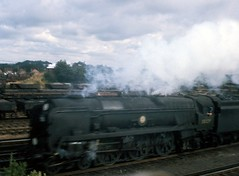 Woking (Keith Chambers) Tags: scans6070s 35029 merchant navy class bulleid pacific steam
