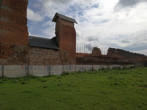 Ruiny zamku w Krewie