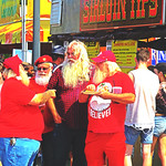 It wasn't XMAS in July but there was more than a few called Santa at the #IndianaStateFair. thumbnail