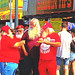It wasn't XMAS in July but there was more than a few called Santa at the #IndianaStateFair.