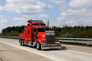 Kenworth W900L Wrecker Heavy Recovery Tow Truck, Autobahn A1