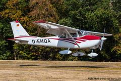 D-EMQA - Reims-Cessna F172E Skyhawk - Private (MikeSierraPhotography) Tags: air airport country deutschland edrv germany spotting town wershofen eifel flugplatzfest demqa reimscessna f172e skyhawk