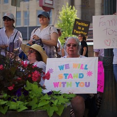 We Will Stand With You (michael.veltman) Tags: families belong together protest rally joliet illinois