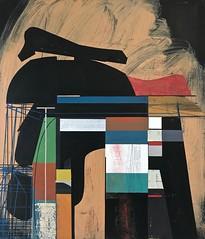 Jim Harris: Herstellung des Belastungs Körpers. (Jim Harris: Artist.) Tags: art artista artist künstler kunstzeitgenössische konst malerei peinture modernart futurism futuristic
