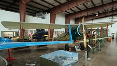 Bristol 14 F.2B Fighter replica in Valle (J.Comstedt) Tags: aircraft flight aviation air aeroplane museum airplane us usa airport planes fame valle grand canyon az bristo fighter replica f2b n34hc