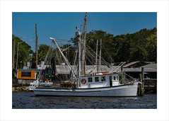 Shrimp Boat (prendergasttony) Tags: shrimp nikon d7200 florida jacksonville bubbagump rigging mast dock rope thebrat