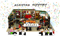 thanks 10k (Afol minifigures collector) Tags: 10kclub friends minifigure lego legoideas legomoc