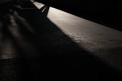 Driveway (Jontsu) Tags: shadow shadows ramp driveway road suomi finland minimal minimalistic fujifilm fuji fujifilmxe2 fujinon23mmf2 fujinon23mm mirrorless