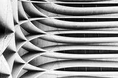 Rowing Boats ? (Leipzig_trifft_Wien) Tags: donaustadt wien österreich at structure vienna pattern architecture building black white bnw blackandwhite urban city wood abstract