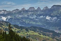 Switzerland – View from Kleinberg (Thomas Mülchi) Tags: flumskleinberg cantonofstgallen switzerland 2018 gondolacableway gondola cableway gondelbahn saxli churfirstenmountainrange churfirsten mountain mountains flumserbergsaxli ch