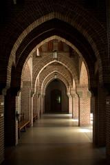 Oosterhout - Sint Paulusabdij (grotevriendelijkereus) Tags: oosterhout abdij abbey convent klooster benedictine architecture architectuur gebouw building interior interieur paul bellot