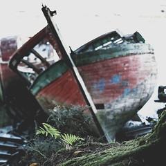 Cimetiere marin du Bono (nico*2) Tags: le bono auray vannes bretagne bzh breizh eau bateau cimetiere pont nature green red ciel boat sea riviere loch paysage mer france morbihan