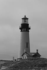 DSC_2482 ~ Yaquina Head Lighthouse OR B&W (stephanie.ovdiyenko) Tags: yaquinahead yaquinaheadlight lighthouse ocean pacificcoast oregoncoast pacificnorthwest rocks rockyshoreline monochrome blackandwhite