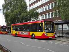 Midland Classic 35 Burton (Guy Arab UF) Tags: midland classic 35 yx12akk alexander dennis e20d enviro 200 bus burton upon trent new street staffordshire buses tower transit first capital dmv44223