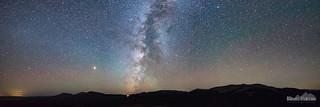 Milky Way Setting Panorama