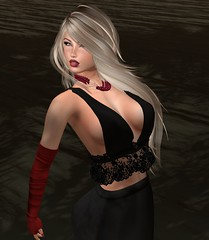 DE.Boutique MaxMara Dress Black Lace 12 (Becky Kenaan) Tags: firestorm secondlife de boutique swank