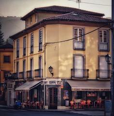Cafe in Pola de Allande, Spain (Randy Durrum) Tags: cafe camino primitivo de santiago durrum samsung s9 spain asturias cafeinpoladeallande pola allande
