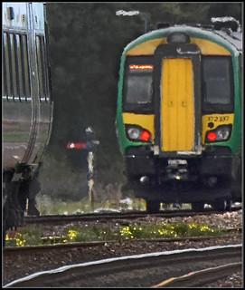 Passing trains, Tyseley