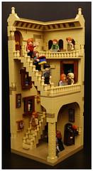 Lego Hogwarts Staircase (SEBASTIAN-Z) Tags: lego harry potter hogwarts minifigs moc