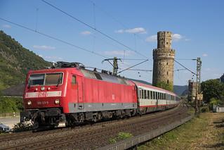 D DB 120 123-5 Oberwesel 29-06-2018