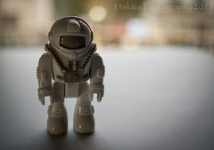Space Travel (13skies) Tags: spaceman travel suit spacesuit windowlight light small hww