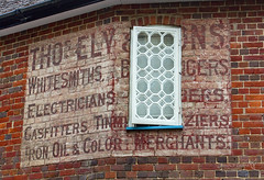 Romsey 17 August 2018 (JamesPDeans.co.uk) Tags: forthemanwhohaseverything england gb printsforsale unitedkingdom history britain ghostsign europe wwwjamespdeanscouk hampshire greatbritain romsey landscapeforwalls jamespdeansphotography uk digitaldownloadsforlicence