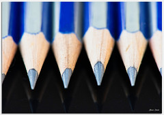 Lead Pencil Macro (Bear Dale) Tags: south coast new wales shoalhaven australia dale lake conjola fotoworx milton nsw nikon d850 nikkor afs micro 105mm f28g ifed vr lead pencil macro sharp points pointed reflection ulladulla beardale lakeconjola southcoast framed photo photograph groups group flickr