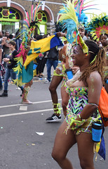 DSC_8324a (photographer695) Tags: notting hill caribbean carnival london exotic colourful costume girls dancing showgirl performers aug 27 2018 stunning ladies