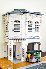 Muar Avenue 4 Brick Street (SynergyLUG) Tags: lego moc building bricks city architecture