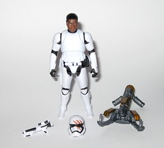 finn fn-2187 star wars the force awakens build a weapon desert mission basic action figure hasbro 2015 a (tjparkside) Tags: finn fn 2187 desert mission ep episode vii 7 seven tfa basic action figure figures 5 poa points articulation star wars 2015 2016 hasbro stormtrooper first order 1st empire imperial soldier baw build weapon buildaweapon blaster helmet traitor disney stormtroopers blood rifle