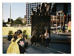 Farewell Brisbane i (@fotodudenz) Tags: fuji fujifilm ga645w ga645wi medium format point and shoot film rangefinder 28mm 45mm 2018 120 brisbane queensland australia cbd kodak portra 400 street photography