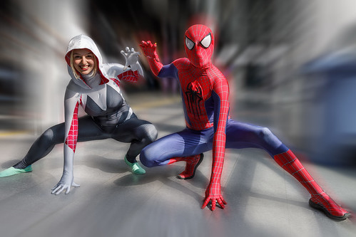 Cosplay@Zurich Game Show - Spiderman