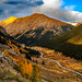 Independence Pass, Colorado in the fall